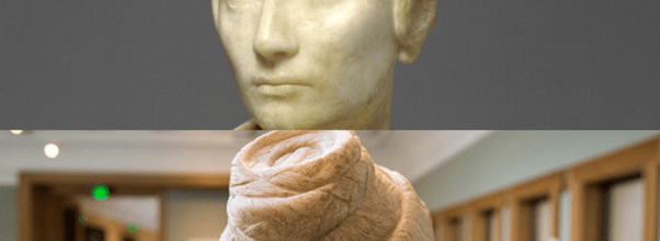 Ancient Roman hairdo by skilled ornatrix