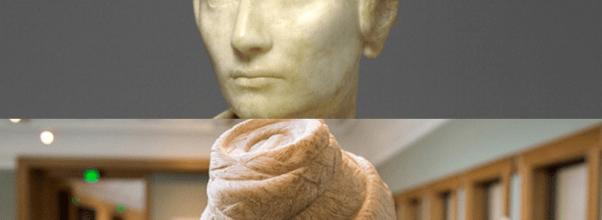Ancient Roman hairdo by skilled ornatrix