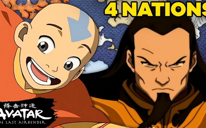 The History of the Four Nations Of Avatar