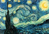 Poster of van Gogh's Starry Night Painting