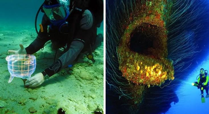 15 Strange Photos Of Sunken Ships (10 Of Weirder Things Underwater)