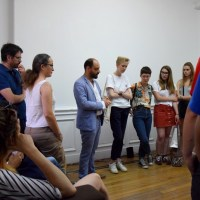 les artistes présentés à interface