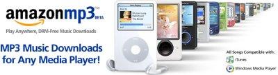 Banner da Amazon MP3