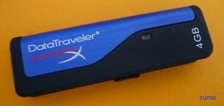 Kingston DataTraveler HyperX 4 GB - com USB fechado