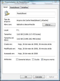 Readyboost do Vista no HyperX