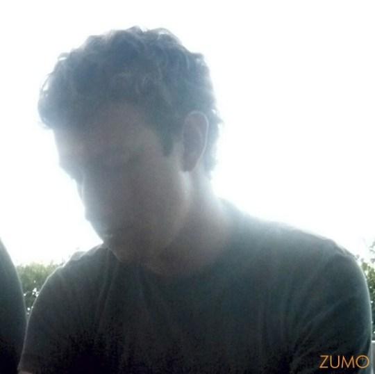Zuckerberg na contra-luz