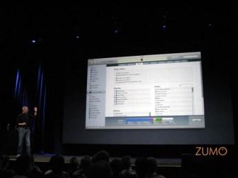 Jobs e o novo iTunes