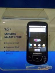 Samsung Galaxy: com interface padrão do Google