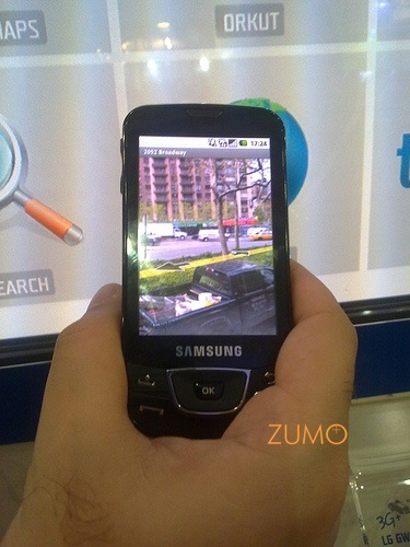 Samsung Galaxy: demo do Google Street View