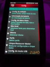 Mini 3iX: sobre o telefone
