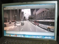 Uma prévia não editada da Av. Paulista no Street View