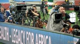 Zoom nas câmeras de TV