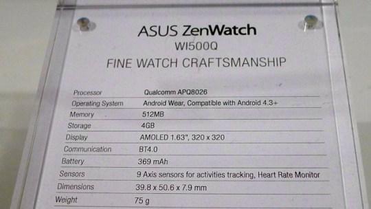 asus zenwatch - 1