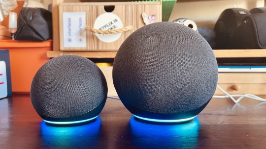 Echo e Echo Dot de 4a geração