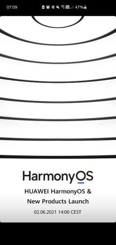 Huawei deu a data para lançar o Harmony: 02 de junho