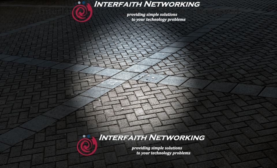 Interfaith Networking Mosaic Brick
