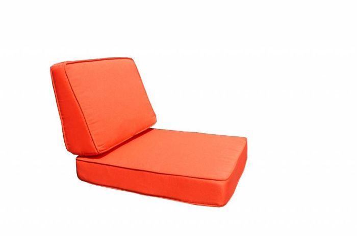 housse de coussin pour fauteuil resine tressee paris orange