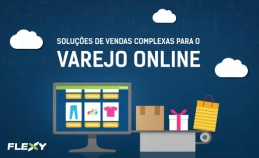 plataforma de e-commerce B2B da flexy para Varejo Online