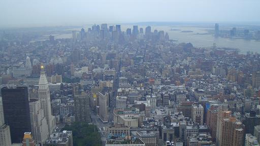 エンパイア ステート ビルディングからの眺望