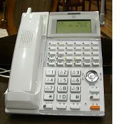 新しい電話機