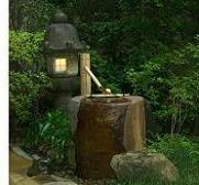 石灯籠と手水鉢