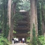 国宝羽黒山神社五重塔