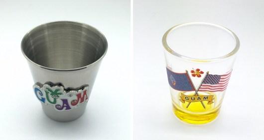 guamのショットグラス