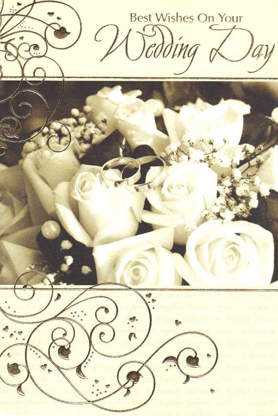 Wholesale Wedding Congratulations Greeting Card 18019
