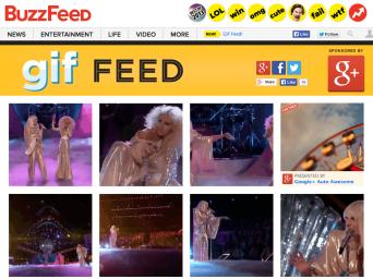 BuzzFeed's GIF Feed