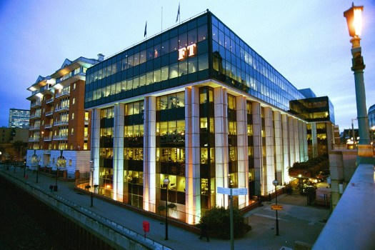 The Financial Times' London office