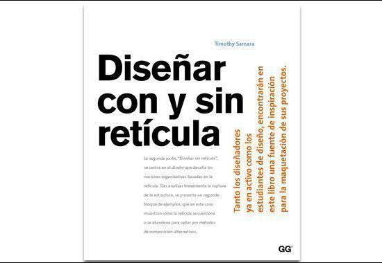 Libro Diseñar con y sin retícula