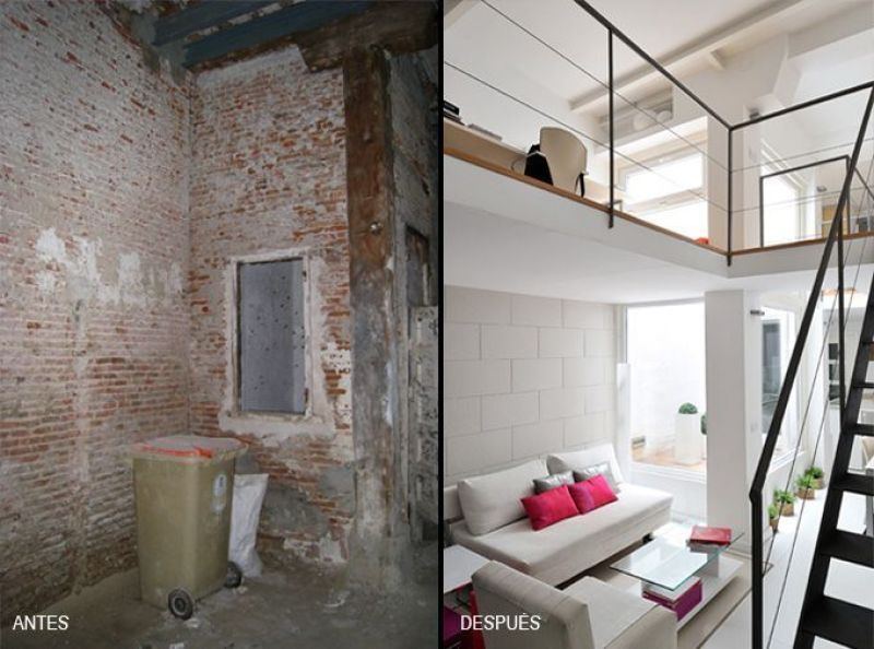 Decoración y reforma de loft