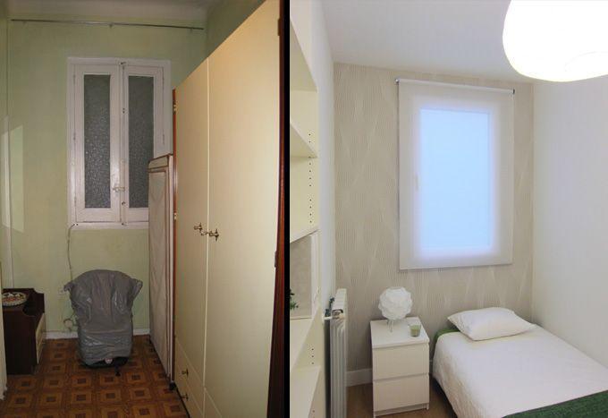 Ejemplo de reforma de un piso interior para alquilar - Reforma piso pequeno antes y despues ...
