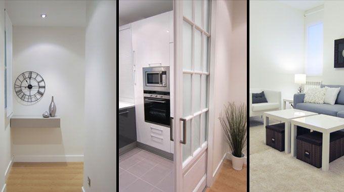 Ejemplo de reforma de un piso interior para alquilar for Reforma piso antiguo