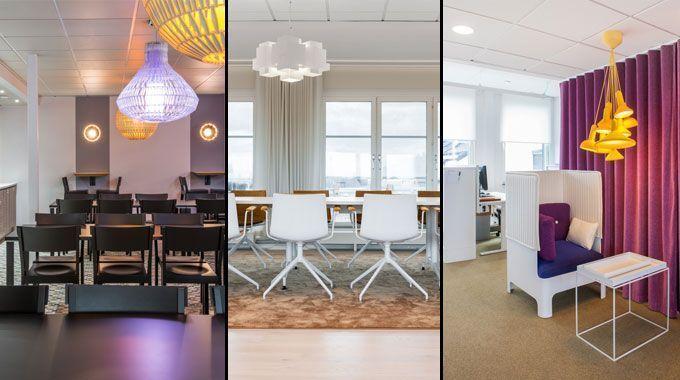Proyecto de dise o interior de oficinas la sede de hsb en for Imagenes de oficinas decoradas