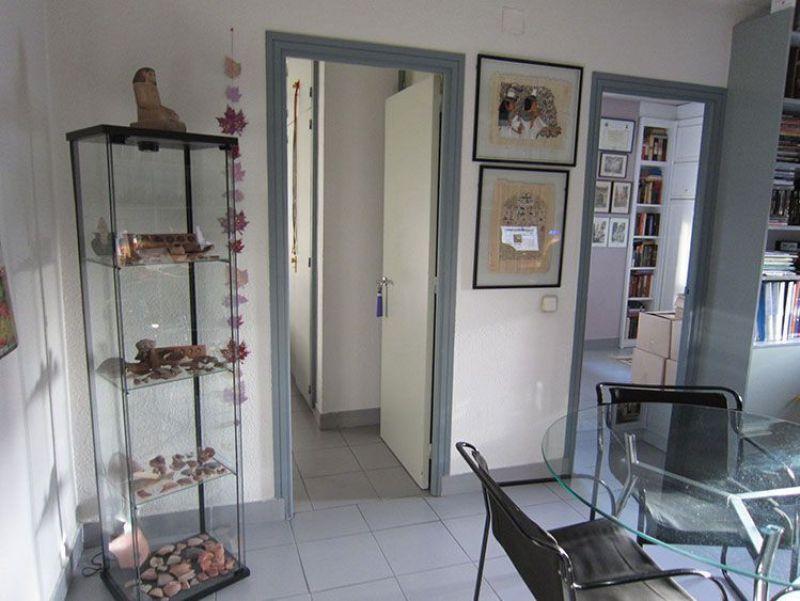 Vista anterior del despacho