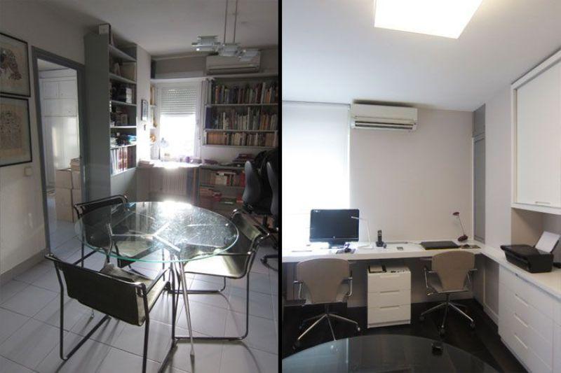 Antes y después del despacho