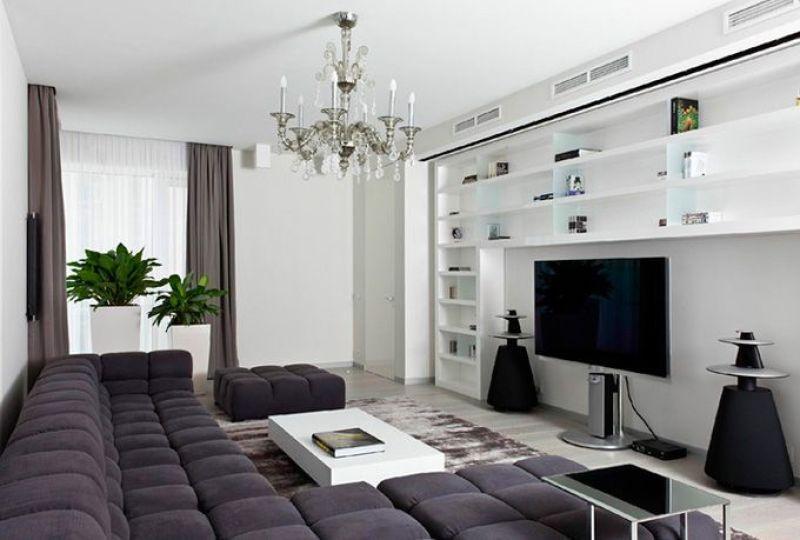 Apartamento contemporáneo en Moscú
