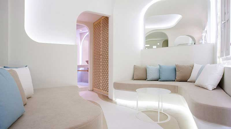 Diseño de hoteles: Andronikos Santorini Grecia