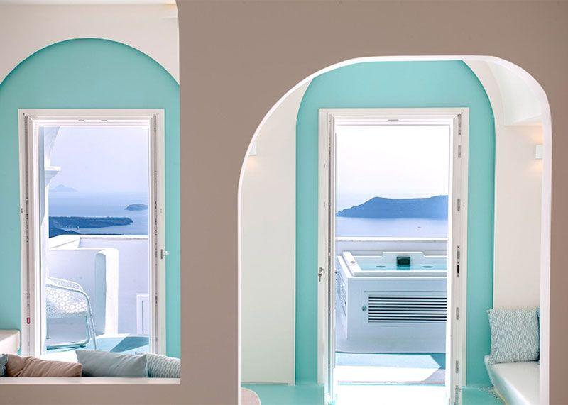 Decoración del hotel Andronikos