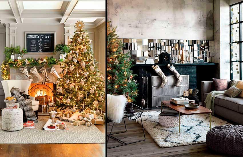 Decoración de mesas de Navidad