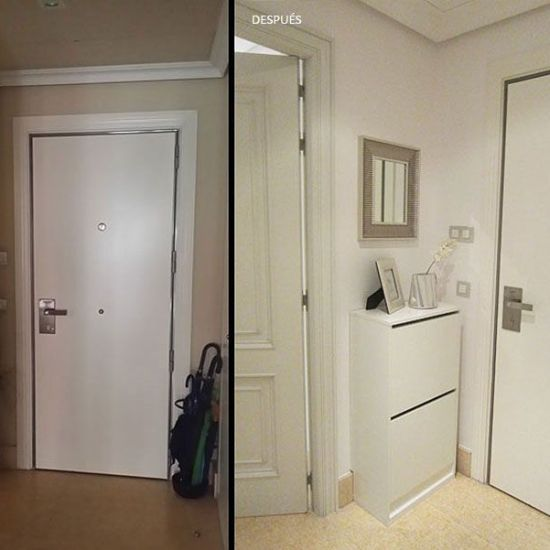 Proyecto de decoración parcial para dos pisos