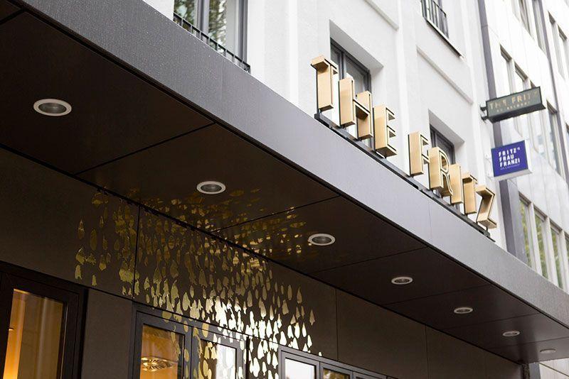 Decoración del hotel de lujo Fritz