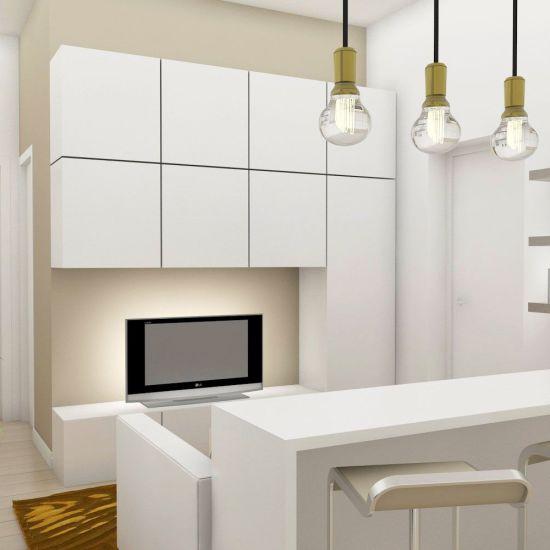 Proyecto de interiorismo de un piso pequeño