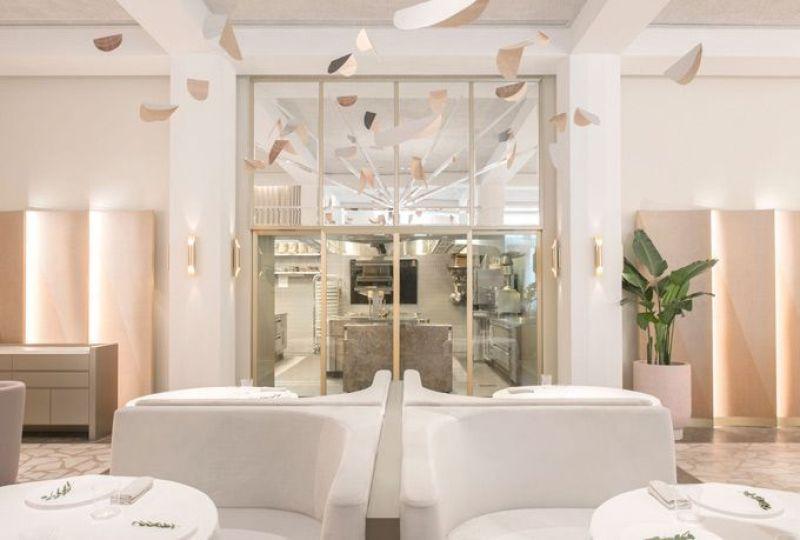 Restaurante Odette en Singapur