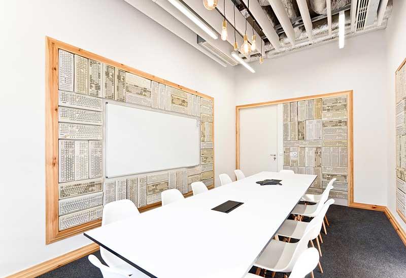Oficina de diseño ecléctico: Opera Software
