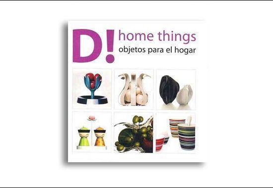 Libro Dhome things (objetos para el hogar)