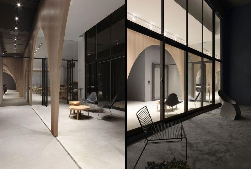 Diseño de oficinas de H&M en Taipei, Taiwan