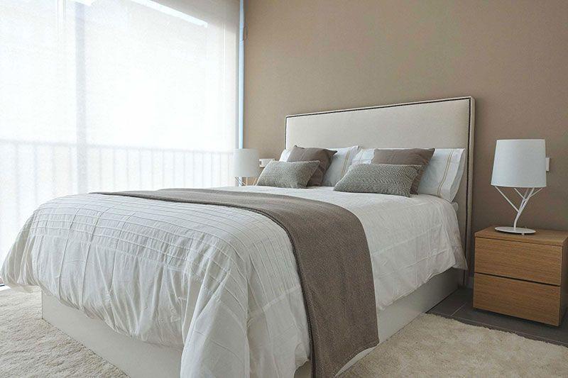 Mobiliario y decoración para un dormitorio