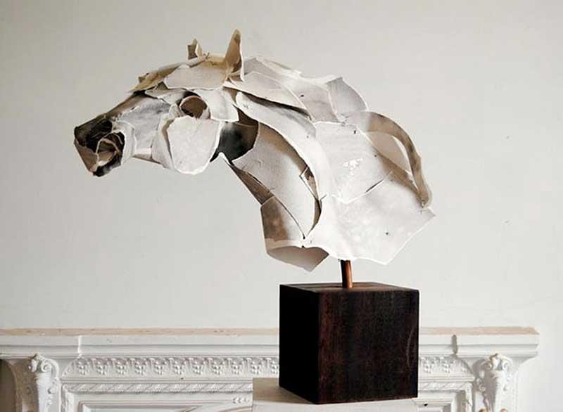 Esculturas de papel
